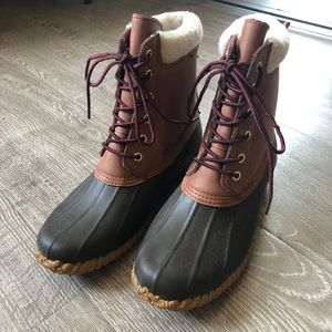 Tommy Hilfiger Waterproof Leather Boots